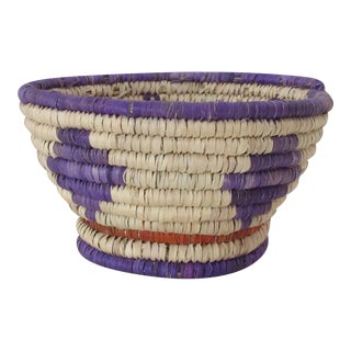 Purple & Red Catchall Basket
