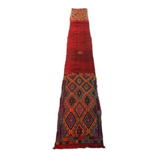 """Nomadik Cicim Turkish Kilim Carpet - 20"""" x 161"""""""