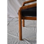 Image of 1970s Oak Dining Chairs - Set of 4