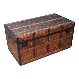 Vintage Rustic Storage Trunk