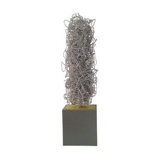 "Jorge Martinez ""White Wire"" Sculpture"