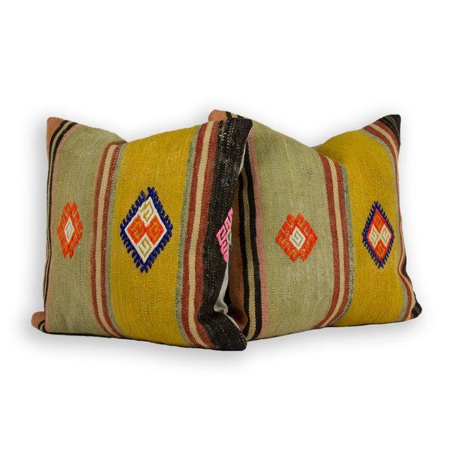 Vintage Square Kilim Pillow - Single - Image 1 of 2