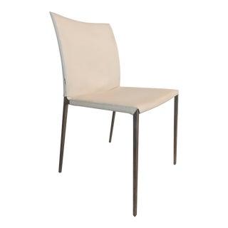 Roberto Barbieri Zanotta Lia Leather Dining Chair