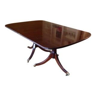 Stickley Mahogany Dining Table