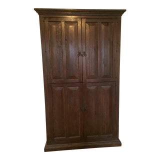 Solid Wood Wardrobe Cabinet