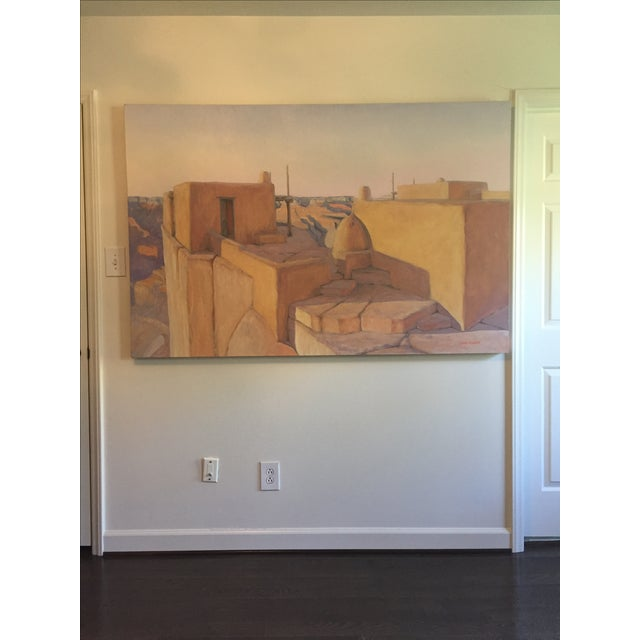 """Image of Bob Howard """"On the Rim"""" Oil Painting"""