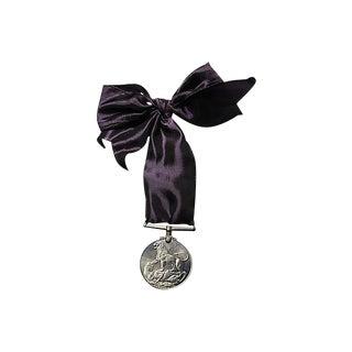 King George VI Faithful Service Medal Ornament