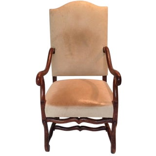 Italianate Dining Chair in Buffalo Hide
