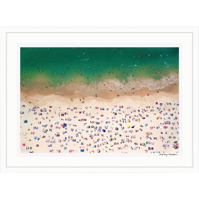 "Image of Gray Malin Large ""Coogee Beach"" (à La Plage) Framed Limited Edition Signed Print"