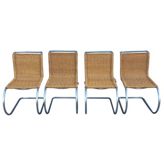 Mies Van Der Rohe Mr10 Dining Chairs for Stendig