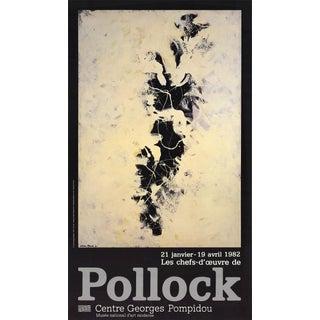 Jackson Pollock Centre Georges Pompidou Lithograph, 1982