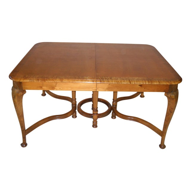 French Provincial Solid Oregon Maple Dining Set - Image 1 of 11