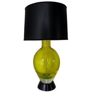 Flavio Poli Glass Table Lamp