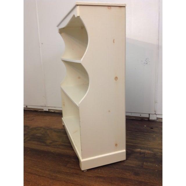 Image of White Painted Pine Bookshelf