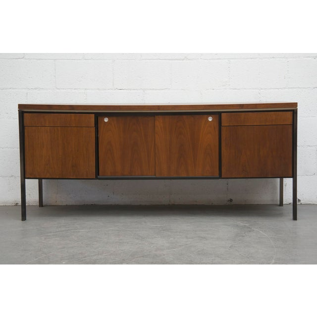 Rosewood Steel Office Credenza - Image 2 of 11