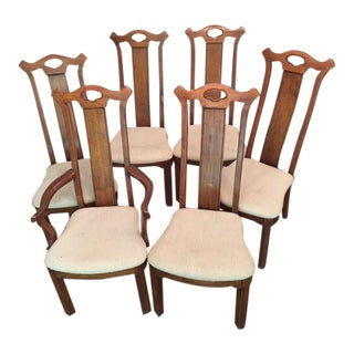1970s Traditional Dining Chairs - Set of 6