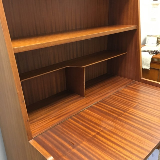Modern Danish Style Teak Cabinet With Drop Front - Image 10 of 10