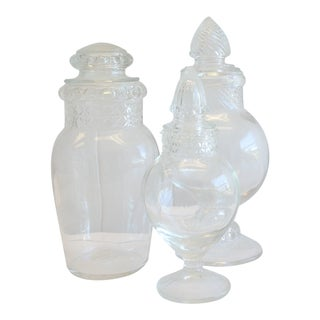 Vintage Glass Candy Jars