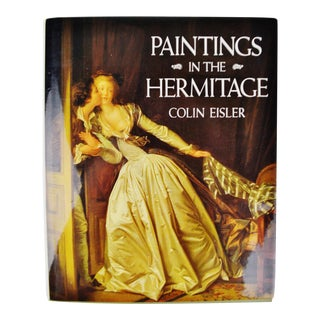 Vintage Paintings In The Hermitage First Edition Coffee Table Book