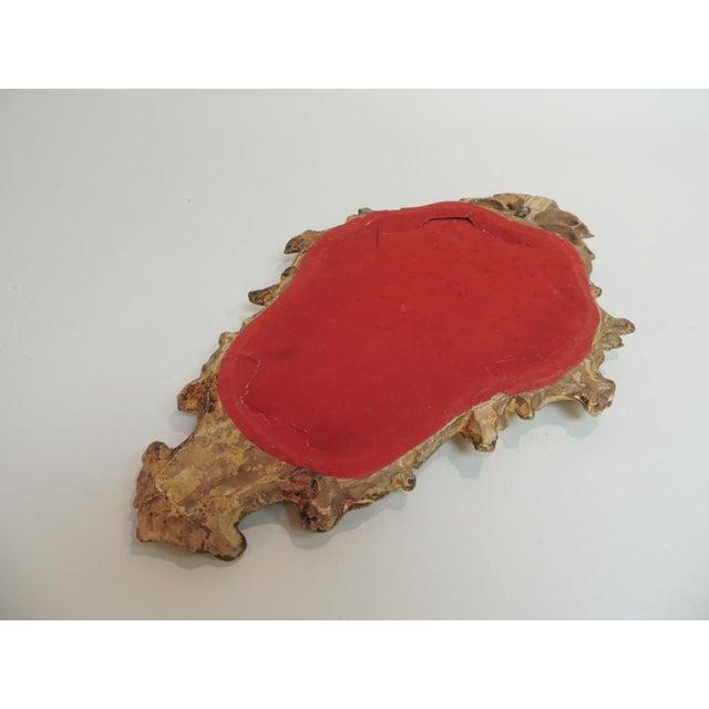 Vintage Florentine Gold Leaf Ornate Mirror - Image 4 of 4