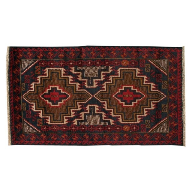 Apadana - Vintage Red Baluch Rug - 3' X 4' - Image 1 of 2