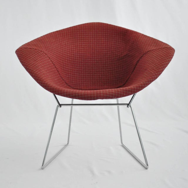 Image of Harry Bertoia Diamond Dining Chair With Cover
