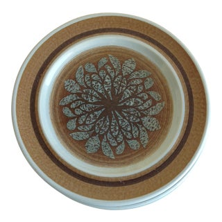 Franciscan Mid-Century Stoneware Plates - Set of 5