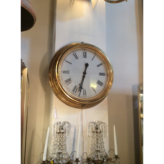 Antique Giltwood Clock - Image 5 of 6
