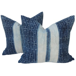 Yao Hill Tribe Batik Pillows - A Pair