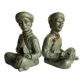 Chinese Scholar Bookends - a Pair