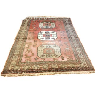 Large Antique Tribal Persian Rug - 8′9″ × 12′2″