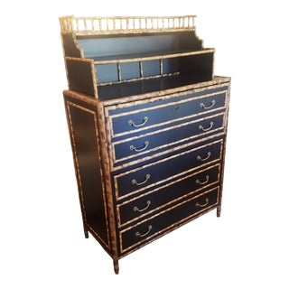 Burnt Bamboo Secretary/Desk