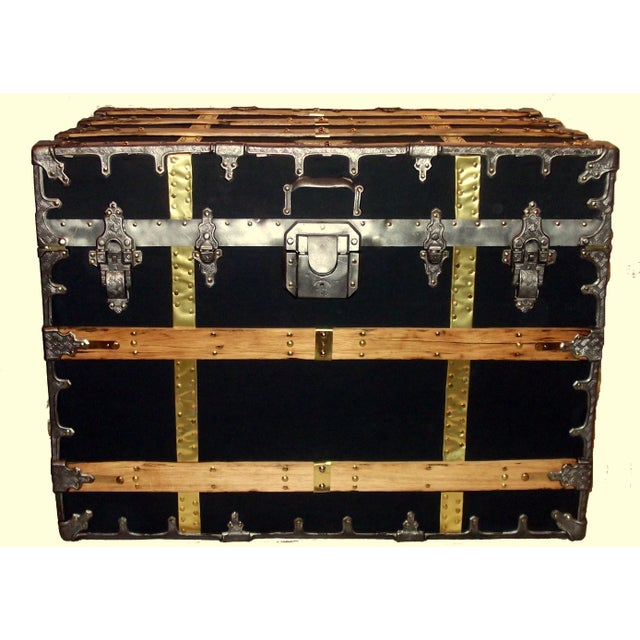 Antique XX Professional Model Trunk - Image 2 of 4