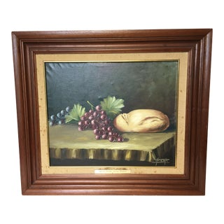 Spanish Still Life Oil Painting