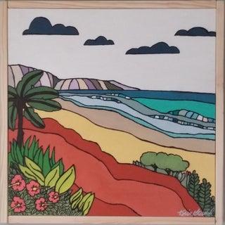"""""""Sand"""" Color Block Art by Kris Gould"""