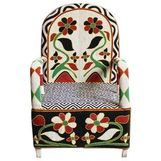 Mali Beaded Chief Chair