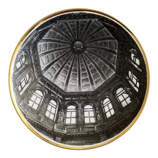 Fornasetti Plate of Church Dome, Cupole d'Italia