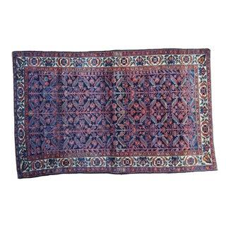 "Vintage Persian Enjelas Rug - 4'2"" x 6'9"""
