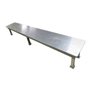 Metal Benches From Allentown Hospital