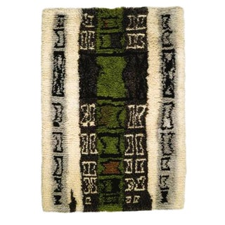 "Kirsti Ilvessalo hand woven rug entitled ""Rya""/1955_ SALE PRICE $2250"