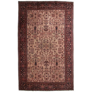 RugsinDallas Antique Turkish Sparta Hand Knotted Wool Rug- 9′6″ × 15′10″