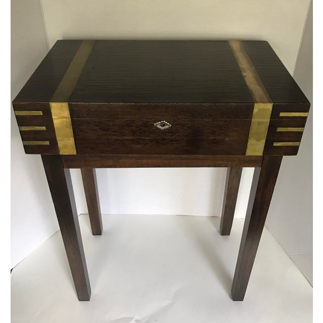 Petite Storage Side Table - Image 3 of 7