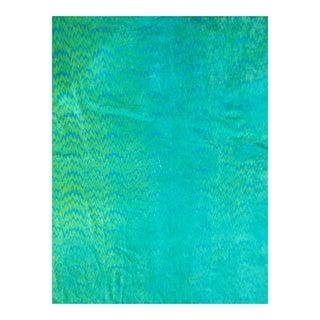 Cotton Velvet Ikat Fabric, 3yds