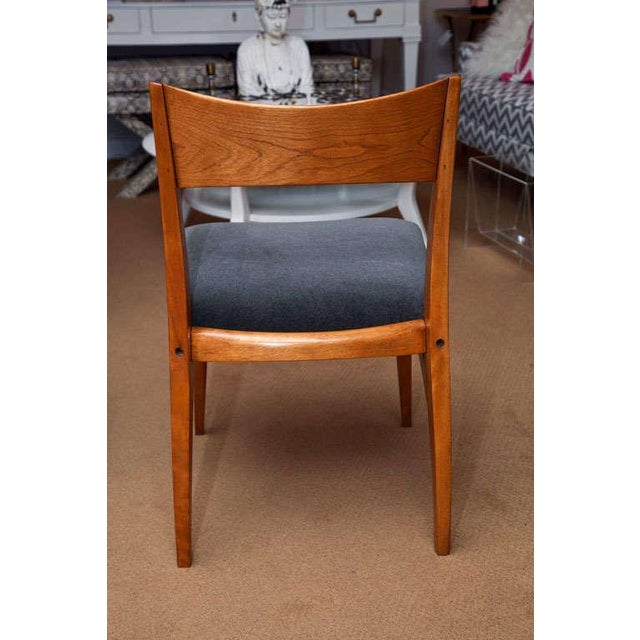 Set of Six Heywood-Wakefield Dining Chairs - Image 6 of 10