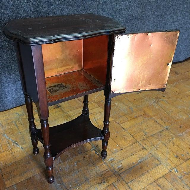 Vintage Antique Side Cabinet Table - Image 5 of 7