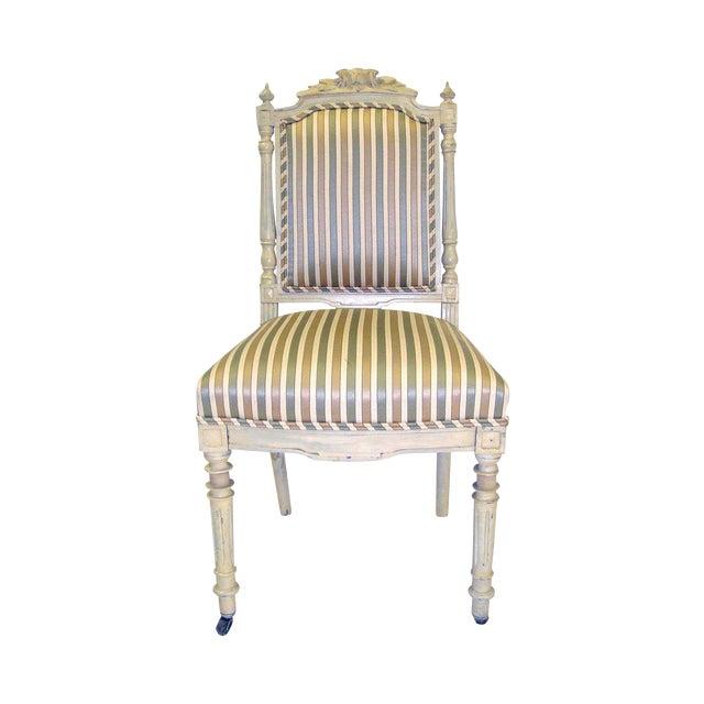 Napoleon III Style Chair - Image 1 of 6