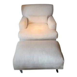 DePadova Contemporary Armchair & Ottoman