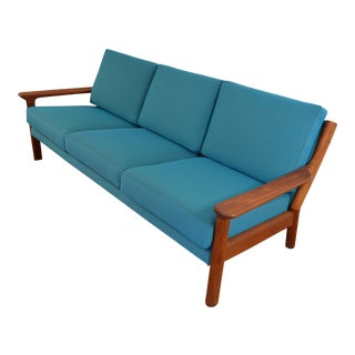 Danish Teak Sofa by Juul Kristensen for Glostrup Møbelfabrik