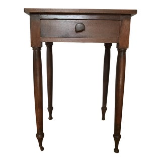 Antique Handmade End Table