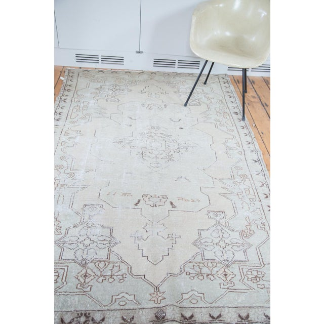 "Distressed Oushak Rug - 4'8"" X 7'5"" - Image 9 of 10"